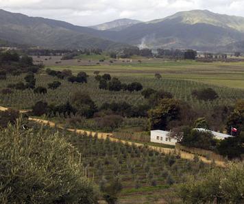 irrigation manager´s house at fundo izaro