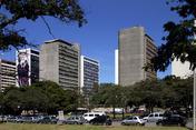 camargo correa and morro vermelho buildings