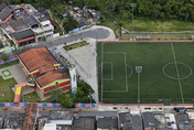 soccer field at jardim so rafael
