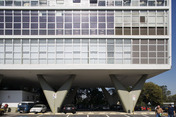 detran building at ibirapuera park