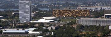 brasilia aerial views