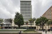 edificio banco central hipotecario