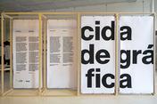 cidade gráfica exhibition at itaú cultural