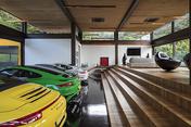 gn residence - garage pavilion