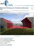 manhufe parking lot / guilherme machado vaz