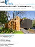 centipede in the garden / guilherme machado