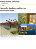 office profiles architects: bernardes jacobsen architecture