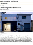office profiles architects: metro arquitetos associados