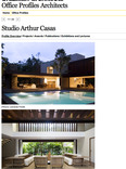 office profiles architects: studio arthur casas