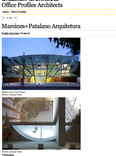 office profiles architects: mareines+patalano arquitetura